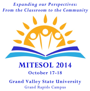 MITESOL 2014 logo for front page 2
